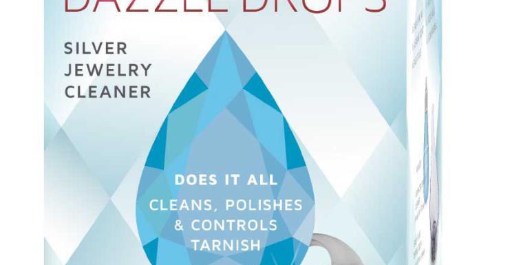 Dazzle Drop. Silver.