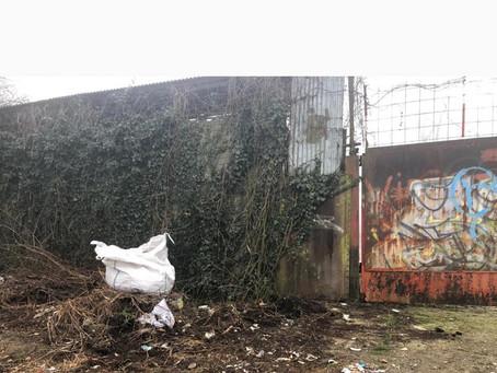 Recupero rifiuti abbandonati da AMSA