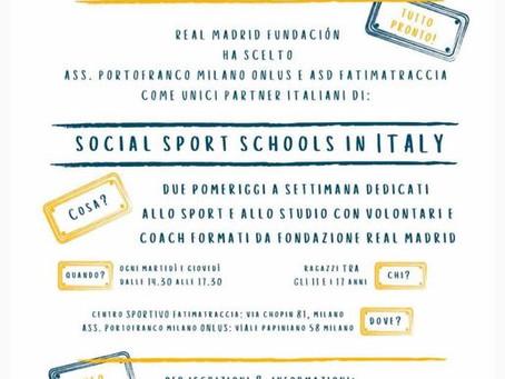 Social Sport Schools in Italy