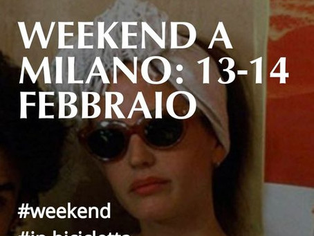 Cosa fare questo fine settimana?