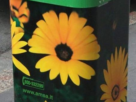 AMSA non ritiene di aggiungere altri cestini...