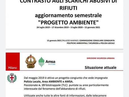 Rapporto Semestrale di Polizia Locale e AMSA