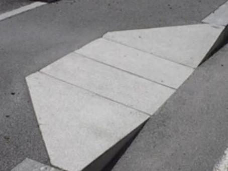 Richiesta scivoli per disabili Via N. Romeo e Via E. Bugatti