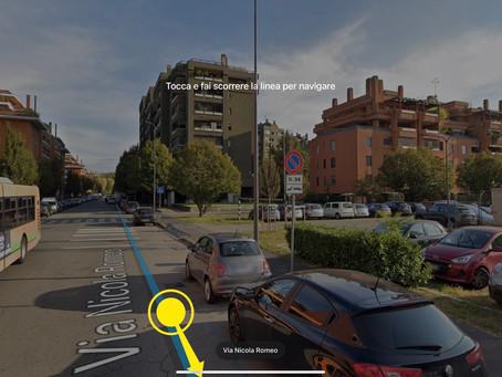Verifica ed eventuale rimozione anomalia della segnaletica orizzontale/verticale in Via Romeo