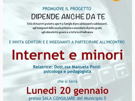 INTERNET E MINORI