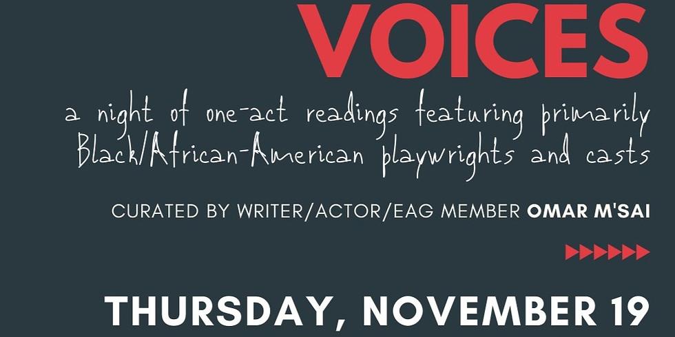 Black Voices: A Sustainable Conversations Event