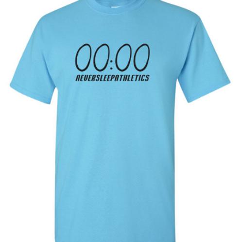 "Light Blue ""Unlimited time"" T-shirt"
