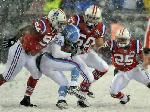 2009 Week #6 - Tennessee Titans 0 vs New England Patriots 59 - SNOW!!! Full Game