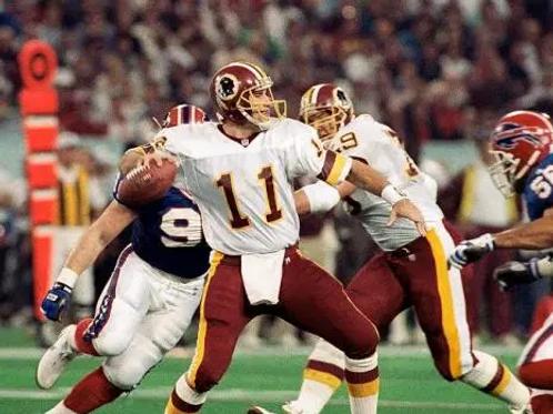 1991 Washington Redskins Super Bowl XXVI 26 Season on DVD - Hogs & Mark Rypien
