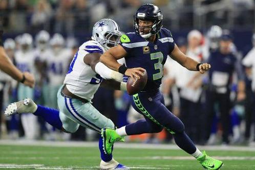 2018 Seattle Seahawks NFC Wildcard Season on DVD - Russell Wilson
