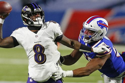 2020 Baltimore Ravens AFC Divisional Season on DVD - Lamar Jackson