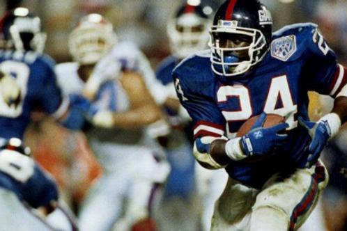 1990 New York Giants Super Bowl XXV 25 Season on DVD - Ottis Anderson