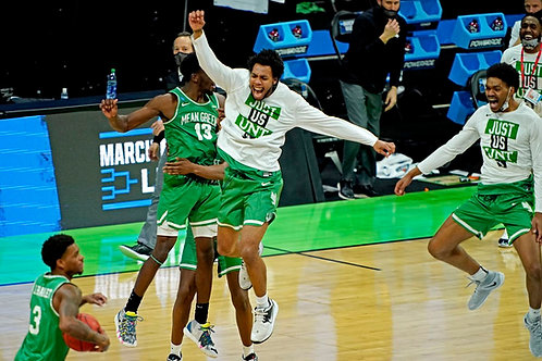 2021 NCAA Basketball Round of 64 on DVD - North Texas Upsets Purdue