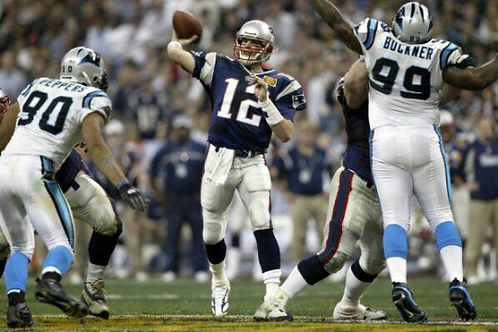 2003 New England Patriots Super Bowl XXXVIII 38 Season on DVD - Tom Brady