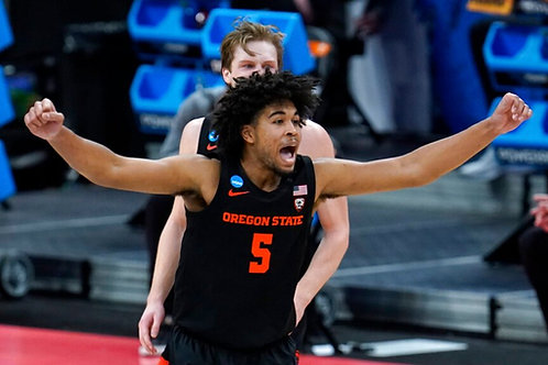 2021 NCAA Basketball Round of 64 on DVD - Oregon State Upsets Tennessee
