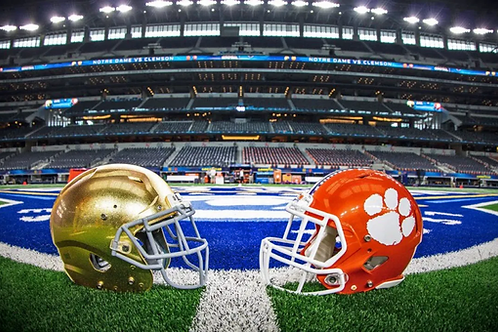 2020 Clemson vs Notre Dame on DVD - 2OT - Game of the Year
