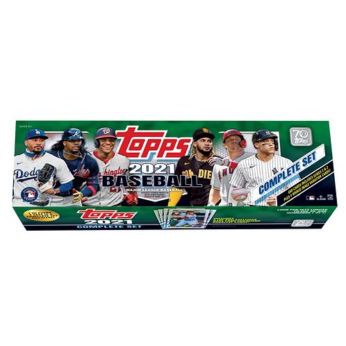 2021 Topps Complete Set MLB Baseball Trading Cards Retail Box