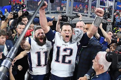 New England Patriots 6 Championship Seasons on DVD - Playoff games & Super Bowls