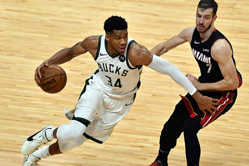 2021 NBA EC 1st Round Playoff on DVD - Milwaukee Vs. Miami - All 4 Games