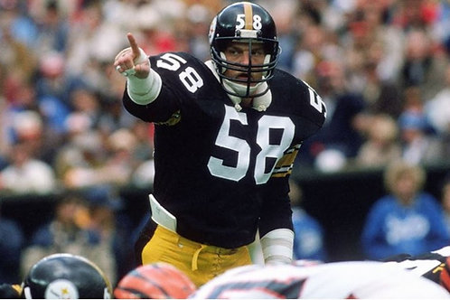 1980 Pittsburgh Steelers  Season on DVD - Jack Lambert