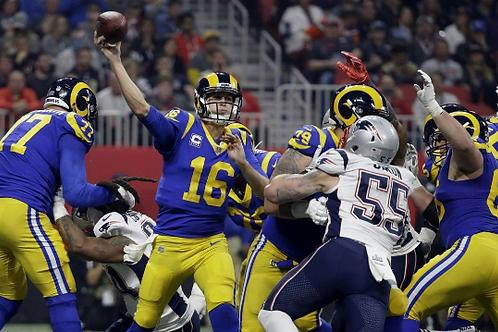 2018 Los Angeles Rams Super Bowl LIII 53 Season on DVD - Jared Goff