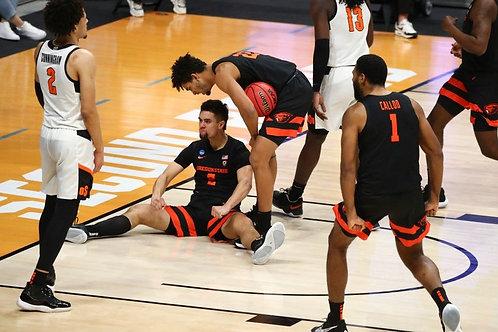 2021 NCAA Basketball Round of 32 on DVD - Oregon State Upsets Oklahoma State