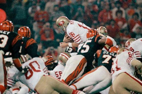 Super Bowl XVI on DVD - San Francisco 49ers vs Cincinnati Bengals - Joe Montana