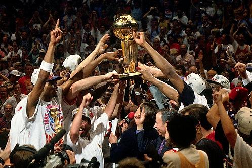 1995 NBA Finals on DVD - Houston Rockets vs Orlando Magic - Hakeem Olajuwon
