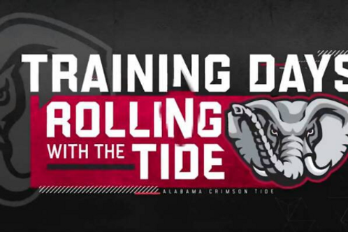 Training Days Rolling With The Tide on DVD - Alabama Crimson Tide All 4 Episodes
