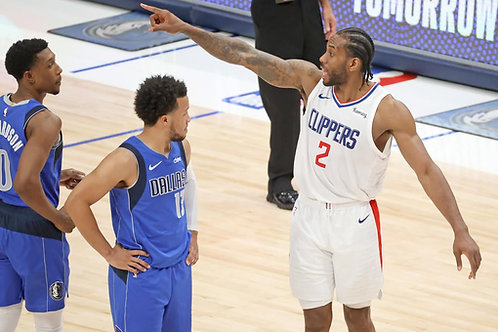 2021 NBA WC 1st Round Playoff on DVD - L.A. Clippers Vs. Dallas - All 7 Games
