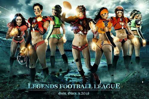 2018 Legends Football League LFL Season on DVD