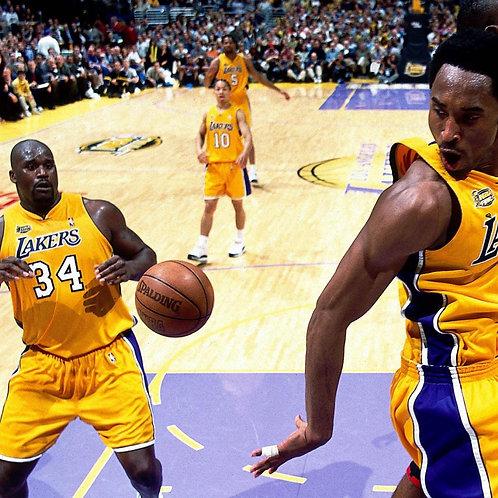 2001 NBA Finals on DVD - Los Angeles Lakers vs Philadelphia 76ers  - Kobe Bryant