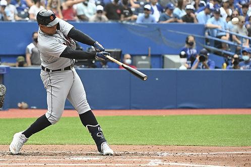 2021 Miguel Cabrera's 500th Home Run on DVD - Detroit Vs. Toronto Full Game