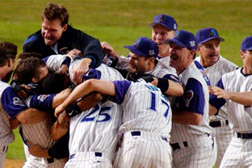 2001 World Series on DVD Arizona Diamondbacks Vs. New York Yankees