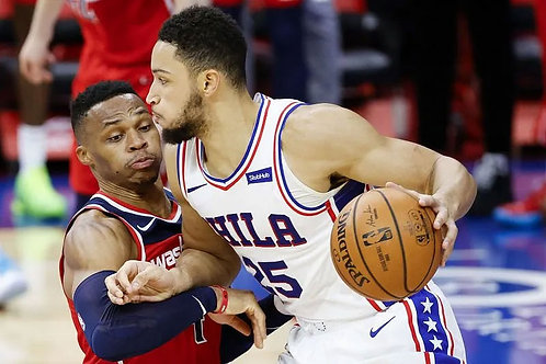 2021 NBA EC 1st Round Playoff on DVD - Philadelphia Vs. Washington - All 5 Games