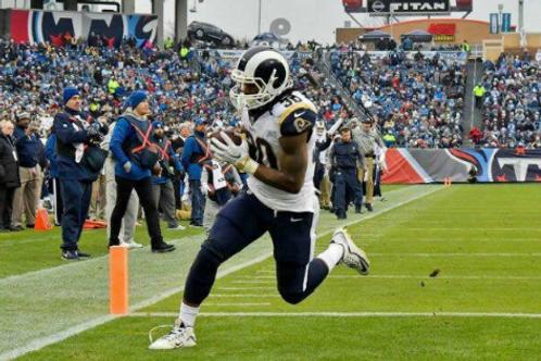 2017 Los Angeles Rams NFC Wild Card Season on DVD - Todd Gurley