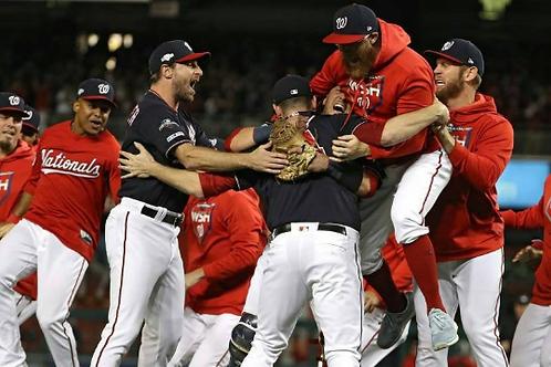 2019 Washington Nationals MLB Playoffs & World Series Games On DVD All 12 Wins
