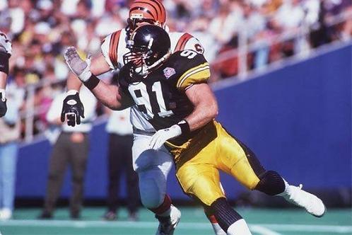 1994 Pittsburgh Steelers AFC Championship Season on DVD - Kevin Greene