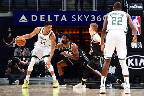 2021 NBA EC Finals - Atlanta vs Milwaukee - All 6 Games