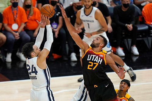 2021 NBA WC 1st Round Playoff on DVD - Utah Vs. Memphis - All 5 Games
