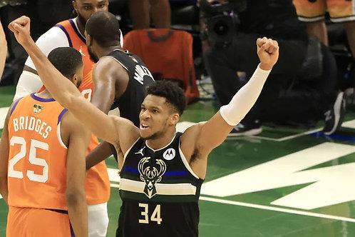 2021 NBA Finals on DVD - Milwaukee Vs. Phoenix - Giannis Antetokounmpo MVP