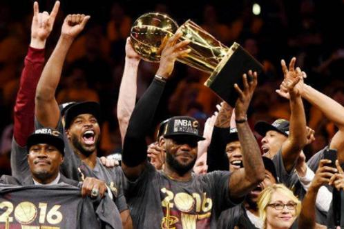 2016 NBA Finals on DVD Cavaliers vs Warriors - LeBron James MVP