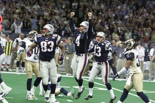 2001 New England Patriots Super Bowl XXXVI 36 Season on DVD - Tom Brady
