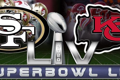 Super Bowl LIV 54 Deluxe 5 DVD Edition - Chiefs vs 49ers
