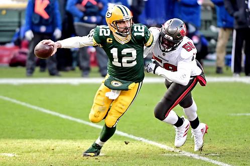 2020 Green Bay Packers NFC Championship Season on DVD - Aaron Rodgers 3rd MVP