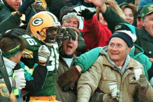 1993 Green Bay Packers NFC Divisional Playoff Season on DVD - LeRoy Butler