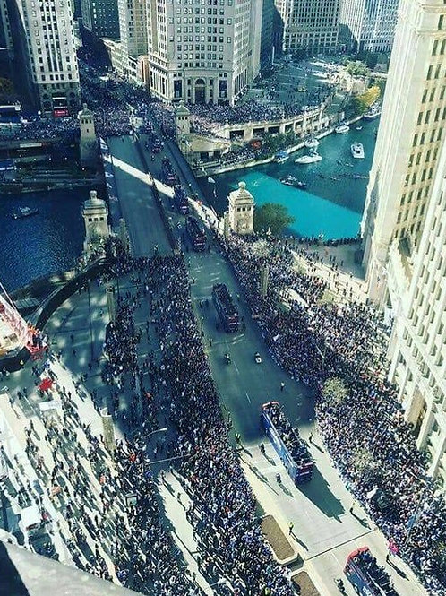 2016 Chicago Cubs World Series Championship Parade and Rally on DVD