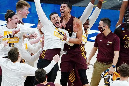 2021 NCAA Basketball Round of 32 on DVD - Loyola Chicago Upsets Illinois