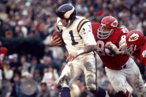 Super Bowl IV (4) on DVD - Kansas City Chiefs vs Minnesota Vikings - Full Game