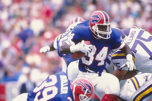 1988 Buffalo Bills AFC Championship Season on DVD - Rookie Thurman Thomas